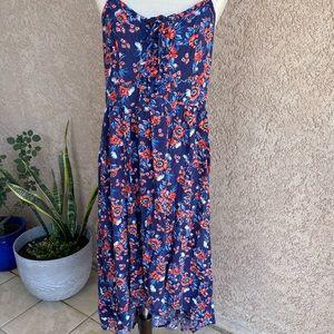 Torrid floral dress size 1